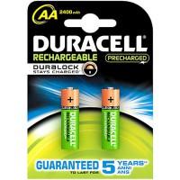 Meer informatie over Duracell Precharged oplaadbare batterijen NH06 (AA) 2400 mAh - 2 stuks