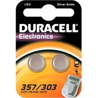 Meer informatie over Duracell Silver Oxide 357/303 - 2 stuks