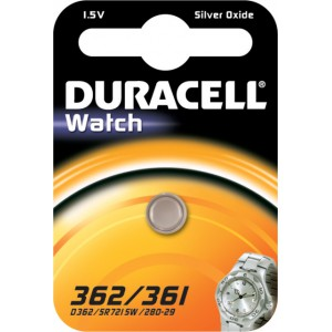 Duracell Silver Oxide 362/361