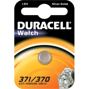 Duracell Silver Oxide 371/370