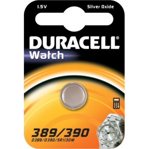 Duracell Silver Oxide 389/390