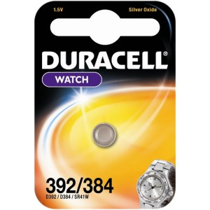 Duracell Silver Oxide 392/384