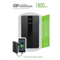 Meer informatie over GP Portable Powerbank 511A 1.800 mAh - Zwart