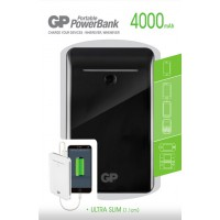 Meer informatie over GP Portable Powerbank GL343 4.000 mAh - Zwart