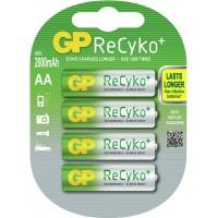 Meer informatie over GP ReCyko+ oplaadbare batterijen NH06 (AA) 2000 mAh - 4 stuks