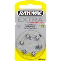 Meer informatie over Rayovac 10 Extra Advanced (kwikvrij) - 6 stuks