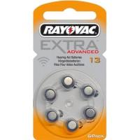 Meer informatie over Rayovac 13 Extra Advanced (kwikvrij) - 6 stuks