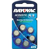 Meer informatie over Rayovac 675 Acoustic Special - 6 stuks